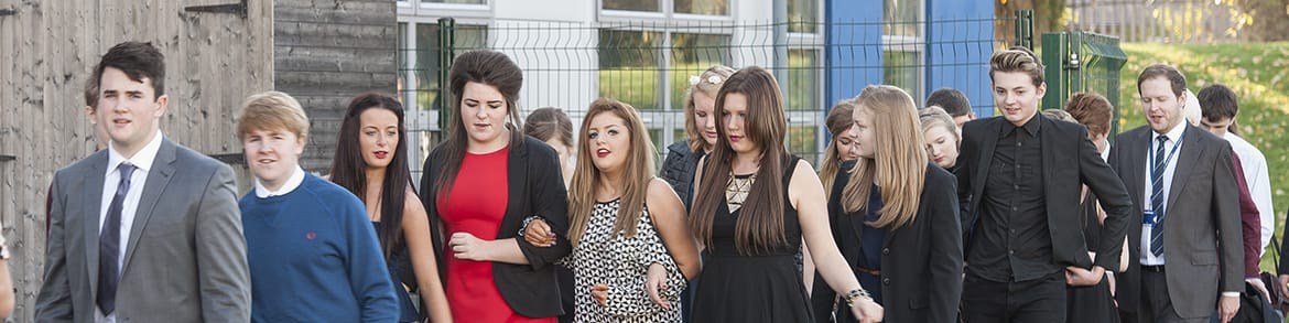 St Wilfrids Day Featherstone group of sixth form