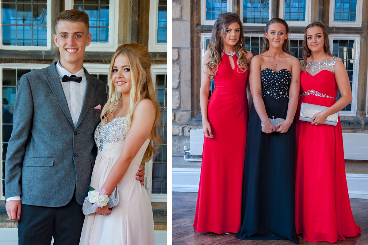 Rogherthorpe Manor prom photography